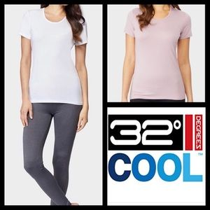 NWT 32 Degrees Cool 2 Pack Short Sleeve T-shirt